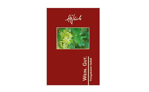 Weingut HÖFLICH Broschüre