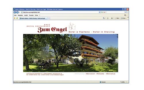 HOTEL ENGEL Webseite