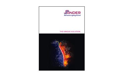 SANDER Broschüre