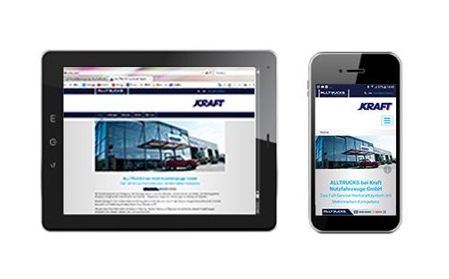 KRAFT Webseite