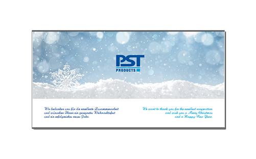 PSTproducts Xmas Karte