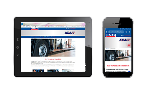 KRAFT – DAF Webseite